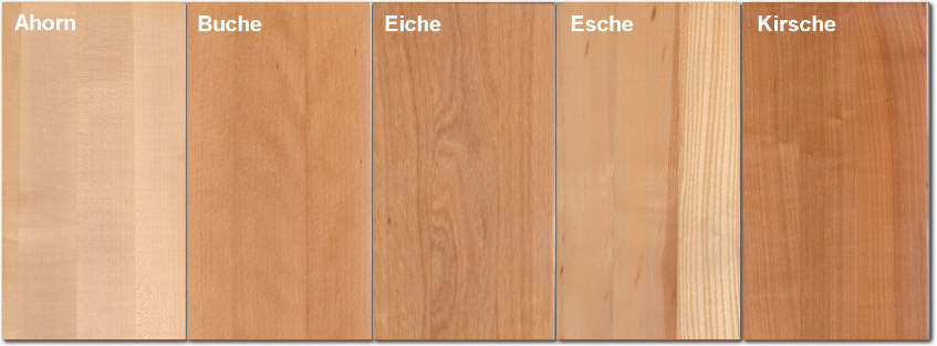 Holz Arten holzarten